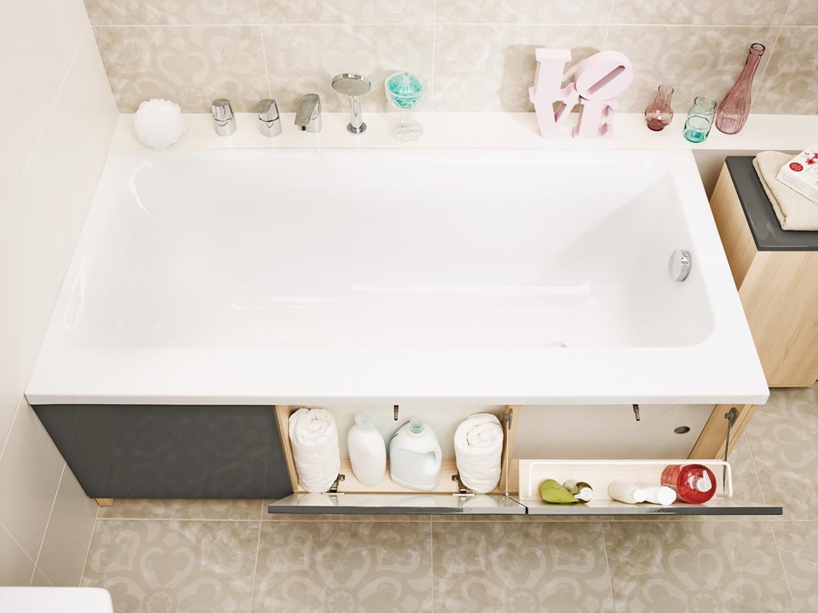 Боковая панель для ванной своими руками 57