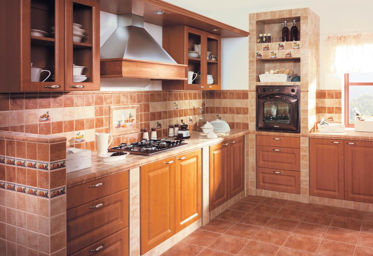 Плитка на кухне своими руками