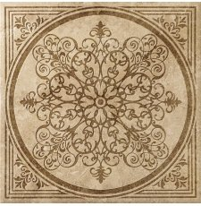 Плитка-декор напольный Italon Natural Life Stone 60x60, Nut Inserto Bloom