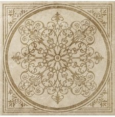 Плитка-декор напольный Italon Natural Life Stone 60x60, Almond Inserto Bloom