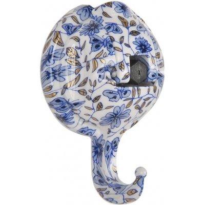Крючок на присоске Feca Space Magic 443921-8528, голубые цветы