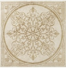 Плитка-декор напольный Italon Natural Life Stone 60x60, Ivory Inserto Bloom