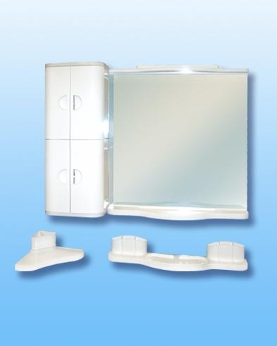 пишу пластиковый шкаф для ванной комнаты с зеркалом купить того