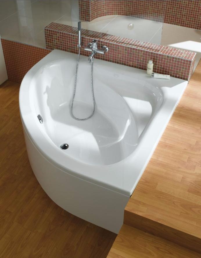 Асимметричная ванна 130 купить