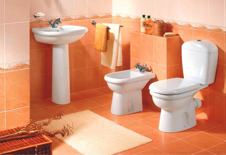 унитазы в интерьере ванной